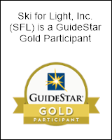 Ski for Light is a GuideStar Gold Participant. Go to the GuideStar site to learn more.